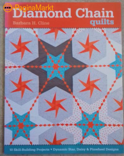 Boek: Diamond Chain Quilts