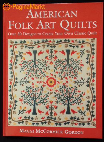 Boek: American Folk Art Quilts