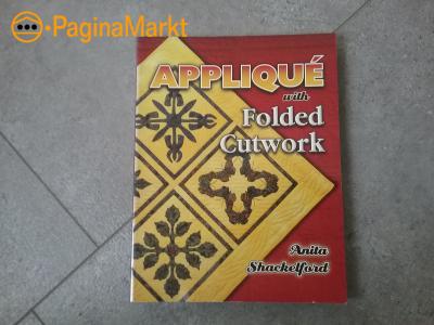 Boek Applique folded  cutwork