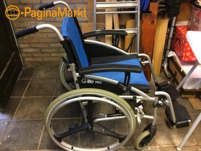Mooie opvouwbare rolstoel g lite pro lichtgewicht