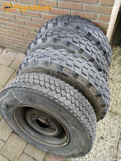 Banden 7,50 x 16 Michelin X
